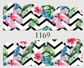 Naklejki wodne na paznokcie - 1169