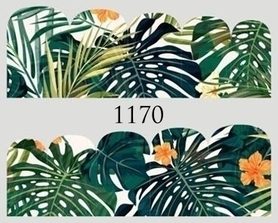 Naklejki wodne na paznokcie - 1170