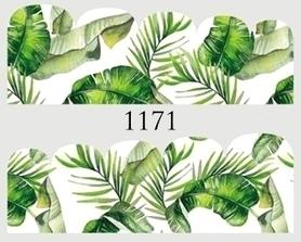 Naklejki wodne na paznokcie - 1171