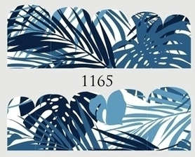Naklejki wodne na paznokcie - 1165