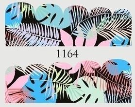 Naklejki wodne na paznokcie - 1164