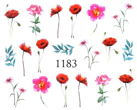 Naklejki wodne na paznokcie - 1183 (1)