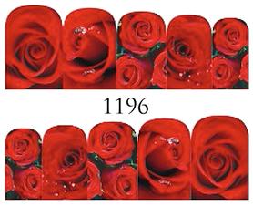 Naklejki wodne na paznokcie - 1196