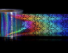 Folia transferowa - holograficzna - ORNAMENT