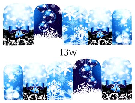 Naklejki wodne na paznokcie - 13W (1)