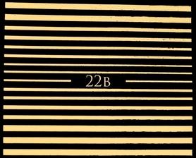 ZŁOTE - Naklejki wodne na paznokcie - 22B
