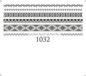 Naklejki wodne na paznokcie - 1032