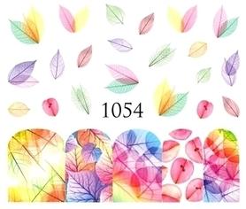 Naklejki wodne na paznokcie - 1054