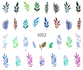 Naklejki wodne na paznokcie - 1052