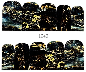 Naklejki wodne na paznokcie - 1040