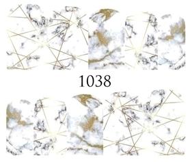 Naklejki wodne na paznokcie - 1038