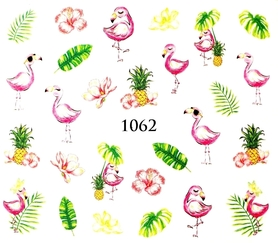 Naklejki wodne na paznokcie - 1062