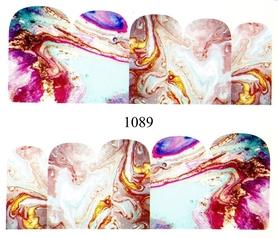 Naklejki wodne na paznokcie - 1089