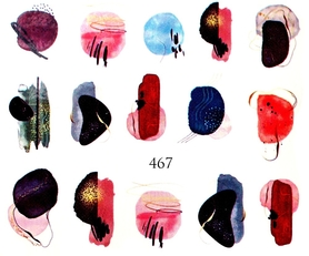 Naklejki wodne na paznokcie - 467