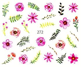 Naklejki wodne na paznokcie - 272
