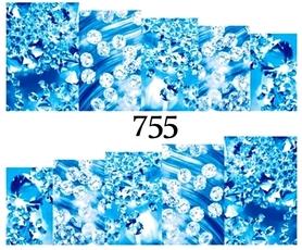 Naklejki wodne na paznokcie - 755