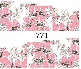 Naklejki wodne na paznokcie - 771