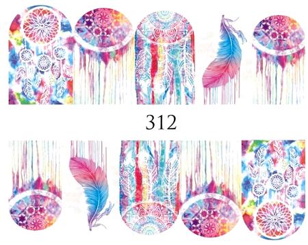 Naklejki wodne na paznokcie - 312 (1)