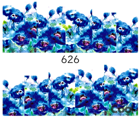Naklejki wodne na paznokcie - 626