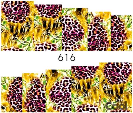 Naklejki wodne na paznokcie - 616 (1)