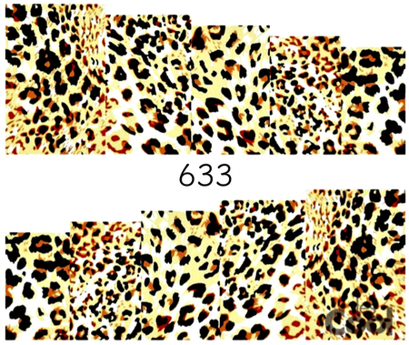 Naklejki wodne na paznokcie - 633 (1)