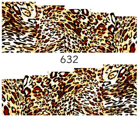 Naklejki wodne na paznokcie - 632 (1)