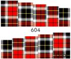 Naklejki wodne na paznokcie - 604 (1)