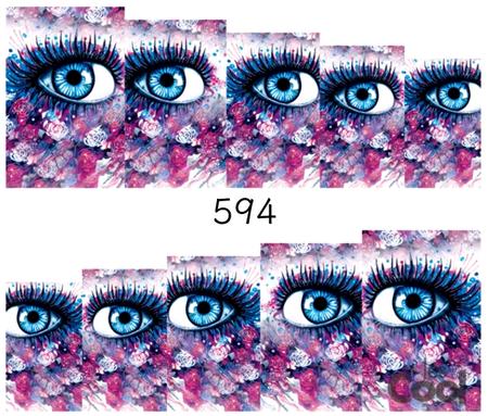 Naklejki wodne na paznokcie - 594 (1)