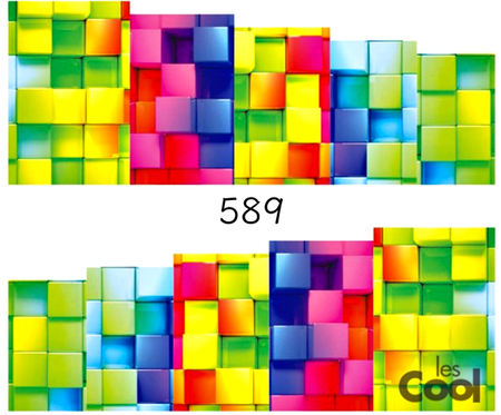 Naklejki wodne na paznokcie - 589 (1)