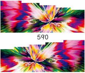Naklejki wodne na paznokcie - 590