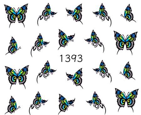 Naklejki wodne na paznokcie - 1393 (1)