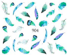 Naklejki wodne na paznokcie - 904