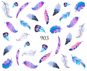Naklejki wodne na paznokcie - 903