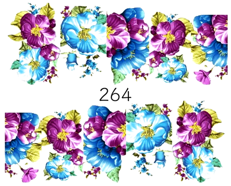 Naklejki wodne na paznokcie - 264 (1)