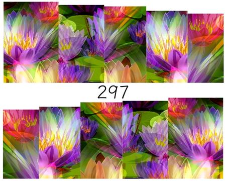 Naklejki wodne na paznokcie - 297 (1)