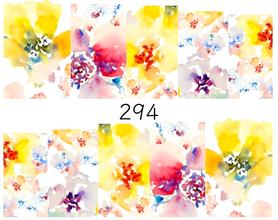 Naklejki wodne na paznokcie - 294