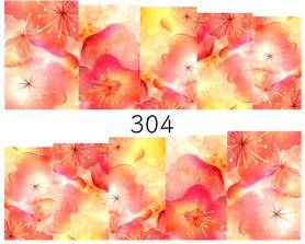 Naklejki wodne na paznokcie - 304