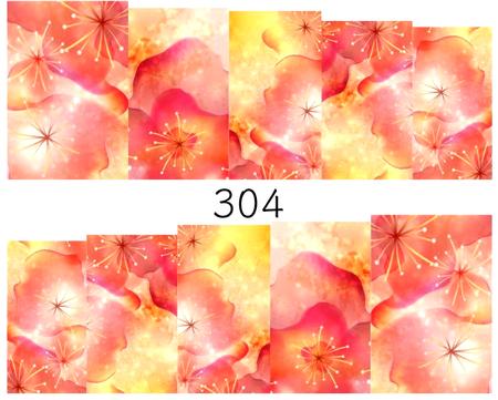 Naklejki wodne na paznokcie - 304 (1)
