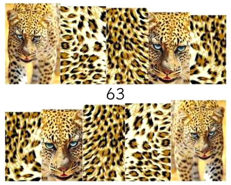 Naklejki wodne na paznokcie - 63 (1)