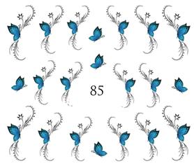 Naklejki wodne na paznokcie - 85