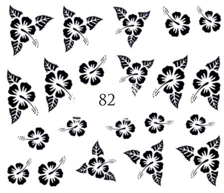 Naklejki wodne na paznokcie - 82 (1)