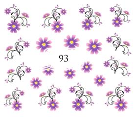 Naklejki wodne na paznokcie - 93