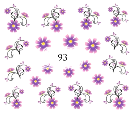 Naklejki wodne na paznokcie - 93 (1)
