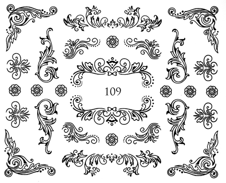 Naklejki wodne na paznokcie - 109 (1)