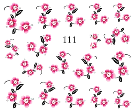 Naklejki wodne na paznokcie - 111