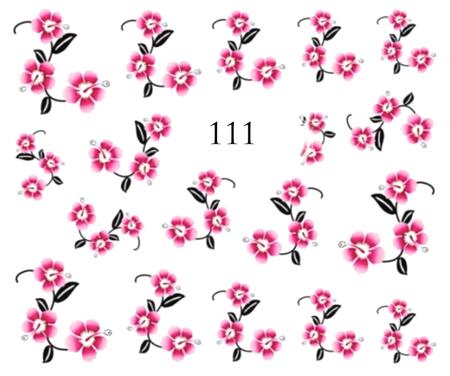 Naklejki wodne na paznokcie - 111 (1)