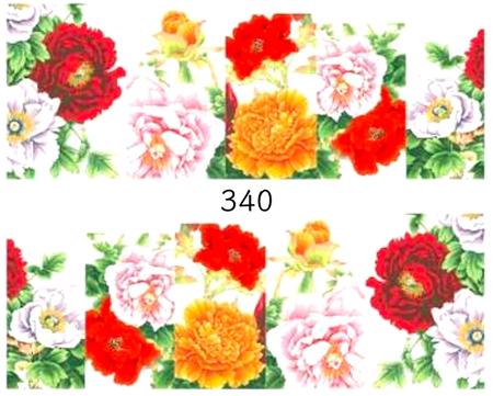 Naklejki wodne na paznokcie - 340 (1)