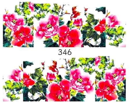 Naklejki wodne na paznokcie - 346 (1)