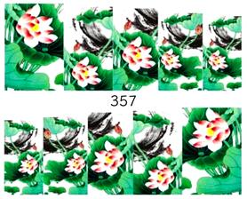 Naklejki wodne na paznokcie - 357