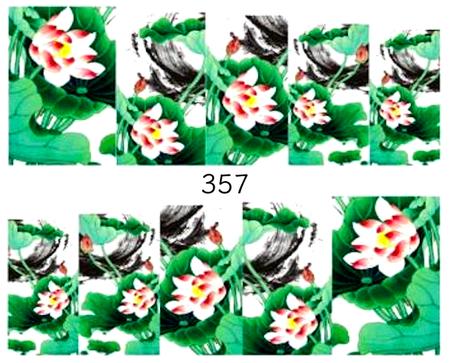 Naklejki wodne na paznokcie - 357 (1)